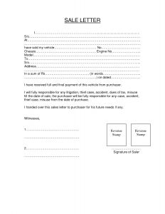 Notice Of Repossession Letter Template - Vehicle Repossession Letter Template Examples