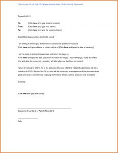 Notice to Vacate Letter Template - 16 Lovely Move Out Letter Land Of Template