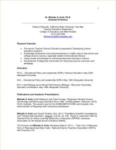 Nsf Letter Of Support Template - Nsf Resume Template Makingthepoint