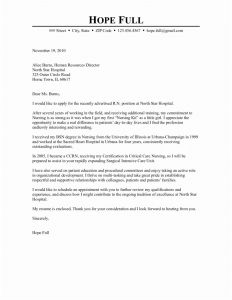 Nursing Letter Of Recommendation Template - Nurse Resume format Best Resume format for Nurses Awesome Nurse