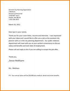 Offer Letter Email Template - Fer Letter Email Template Valid Job Fer Letter Template Us Copy Od