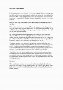 Online Cover Letter Template - 24 Cv Cover Letter Example Free Download