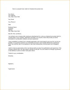 Online Cover Letter Template - Download Beautiful Cover Letter Accounting Position