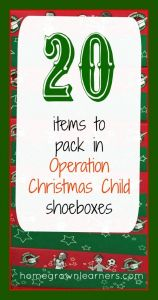 Operation Christmas Child Letter Template - Operation Christmas Child Letter Samples