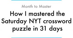 Opt Out Letter for Nys Testing Template - How I Mastered the Saturday Nyt Crossword Puzzle In 31 Days