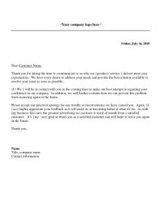 Osha Response Letter Template - Reply to Patient Plaint Letter Template Samples