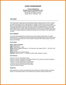 Pageant Sponsorship Letter Template - Sponsorship Proposal Letter Template Collection