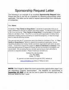 Pageant Sponsorship Letter Template - Letter asking for Individual Sponsorship Best Letter for Requesting