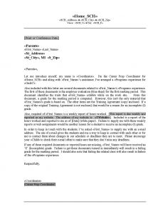 Parent Conference Letter Template - Teacher Wel E Letter to Parents Template Samples