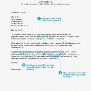 Parole Support Letter Template - Sample Cover Letter Writing Position