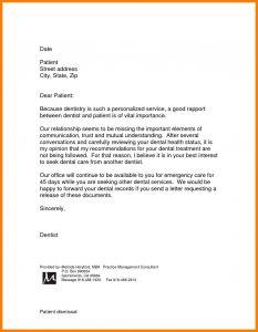 Patient Discharge Letter Template - Patient Dismissal Letter for Behavior Template Collection