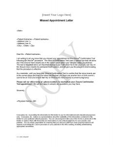 Patient Missed Appointment Letter Template - C form Request Letter to Sales Tax Fice Best Sample Appointment