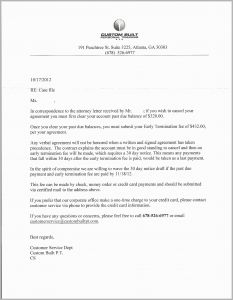 Payment Agreement Letter Template - Rental Agreement Letter Beautiful Sample Demand Letter for Unpaid