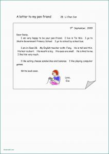 Pen Pal Letter Template - French Sample Letters to A Friend Best French formal Letter format