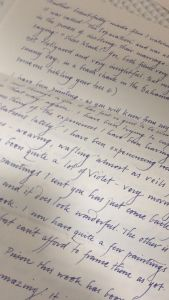Pen Pal Letter Template - Graceful Handwriting My Friend S Pen Pal is An Artist Imgur