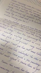 Pen Pal Letter Template Printable - Graceful Handwriting My Friend S Pen Pal is An Artist Imgur