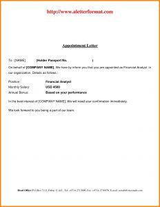 Performance Bonus Letter Template - Sample Job Fer Letter Template Examples
