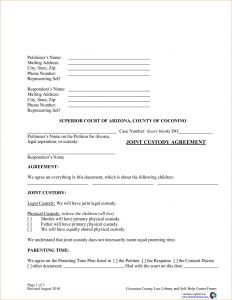 Permanent Guardianship Letter Template - Permanent Guardianship Letter Template 2018 Nm Child Custody forms