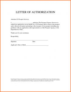 Permission to Travel Letter Template - Permission to Travel Letter Template New Sample Authorization Letter