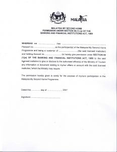 Permission to Travel Letter Template - Malaysia Visa Application Letter Writing A Re Papervisa Request