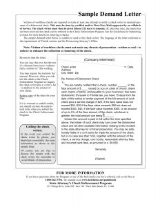 Personal Injury Demand Letter Template - Small Claims Court Letter Demand Template Examples
