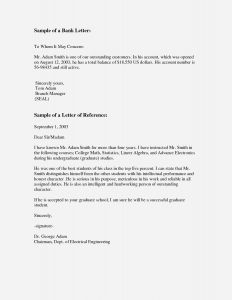 Personal Letter Of Reference Template - Fresh Student Letter Re Mendation Template