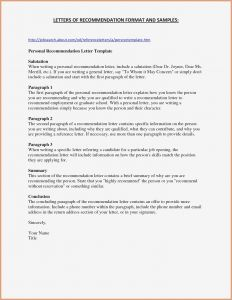 Personal Letter Of Reference Template - Personal Letter Re Mendation for A Friend Awesome Example