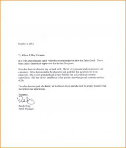 Pet Reference Letter Template - 3 4 Sample Of Reference Letter