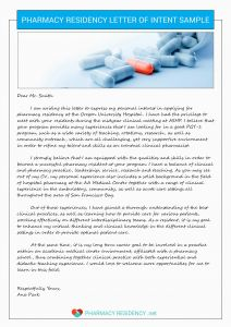Pharmacy School Letter Of Recommendation Template - Letter Intent Pharmacy Residency Example 50 New Letter Intent