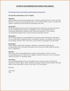 Pharmacy School Letter Of Recommendation Template - 27 Best Letter Re Mendation Template 2018