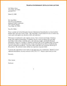 Pocket Letter Template - Application Letter Sample with Full Block Style format Example Sales