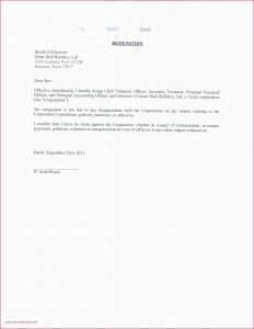 Power Of attorney Resignation Letter Template - Resignation Letter format In Emails Power attorney Resignation