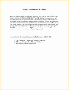 Power Of attorney Resignation Letter Template - Power attorney Resignation Letter Template Awesome Power