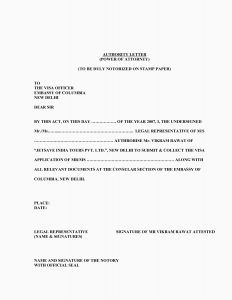 Power Of attorney Resignation Letter Template - Power attorney Resignation Letter Template Collection