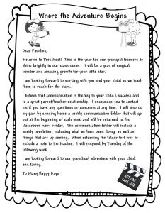 Preschool Welcome Letter to Parents From Teacher Template - Kindergarten Wel E Letter Template Collection
