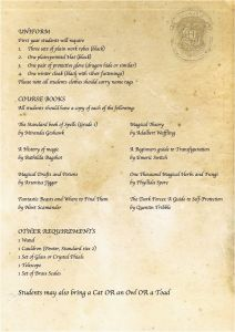 Printable Hogwarts Acceptance Letter Template - Printable Hogwarts Acceptance Letter Template Free Creative Besten