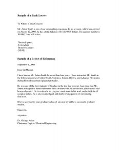 Professional Letter Template - Professional Letter Template