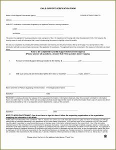 Proof Of Child Support Letter Template - Example Custody Agreement Letter and Agreement Joint Custody