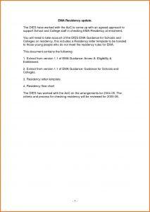 Proof Of School Enrollment Letter Template - 50 Best Proof Residency Letter Template Word