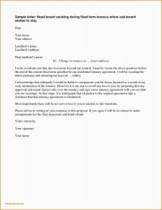Property Inspection Letter to Tenant Template - Termination Letter format Pdf 50 Inspection Letters Sample Resume