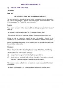 Property Inspection Letter to Tenant Template - Property Inspection Letter to Tenant Template Collection