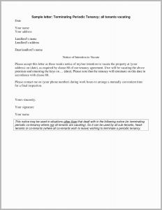 Property Inspection Letter to Tenant Template - Lease Termination Letter to Tenant From Landlord Pretty Termination