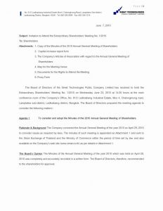 Proxy Letter Template - Proxy Letter format Download Best Hoa Proxy form Template Proxy