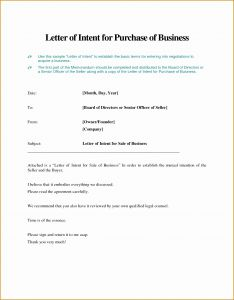 Real Estate Letter Of Intent Template - Free Letter Intent Template Business Best Real Estate Letter