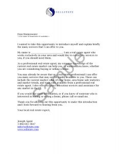 Real Estate Prospecting Letter Template - Real Estate Announcement Letter Sample Zaxa