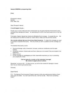 Real Estate Prospecting Letter Template - Real Estate Prospecting Letter Template
