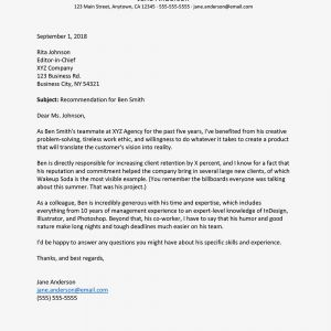 Recall Letter Template - How to Write A Letter Of Re Mendation for A Co Worker