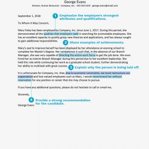 Reference Letter Template Samples - Reference Letter Sample Explaining A Layoff