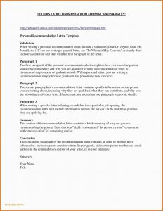 References Letter Template - Nursing Re Mendation Letter Sample Re Mendation Letter for Nurse