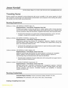 Registered Nurse Cover Letter Template - Hospital Letter Template Collection